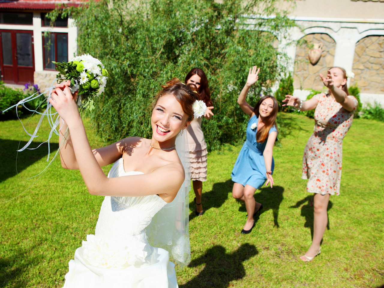 Традиция свадебная