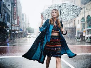 модный зонт
